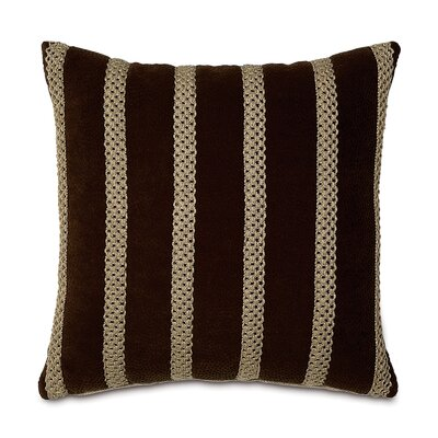 Eastern Accents Shamwari Polyester Genet Decorative Pillow with Gimp