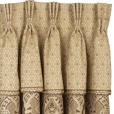 Eastern Accents Nottingham Three-Finger Cotton Pleat Curtain Single Panel