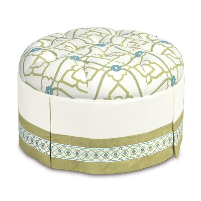 Eastern Accents Bradshaw Cotton Ottoman