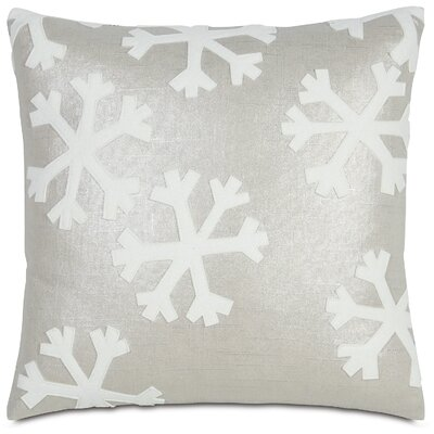 Eastern Accents Tinsel Town Falling Snow Pillow