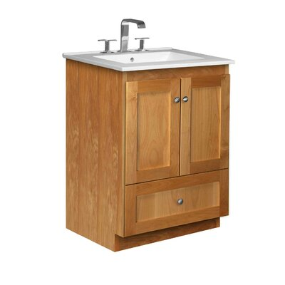 Strasser Woodenworks Simplicity 25&quot; Bathroom Vanity