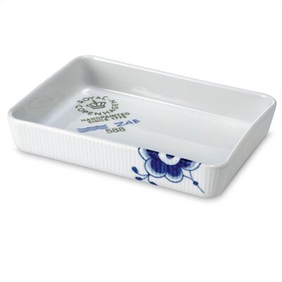 "Royal Copenhagen Blue Fluted Mega 6"" x 9"" Ovenware"