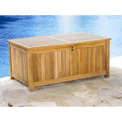 Three Birds Casual Le Spa Cushion and Teak Storage Box
