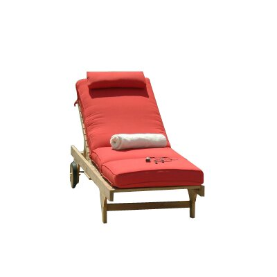 Three Birds Casual Boxed Chaise Lounger Cushion