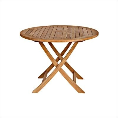Three Birds Casual Cambridge Round Folding Coffee Table