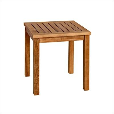 Three Birds Casual Newport Tall Square Side Table