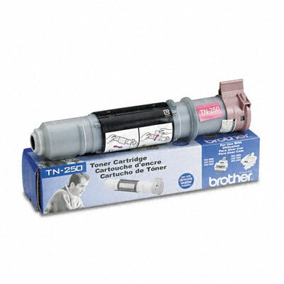 Brother Tn250 2200 Page-Yield Toner, 2200 Page-Yield