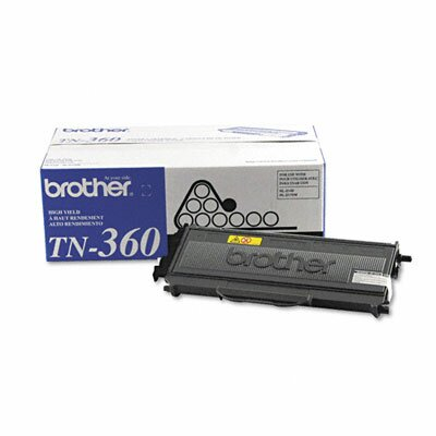 Brother TN360 Toner Cartridge, Black