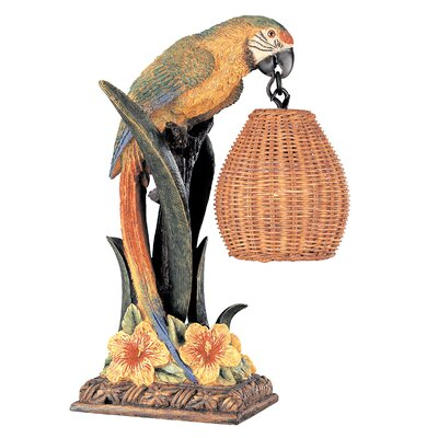 Pacific Coast Lighting Kathy Ireland Gallery Parrot Paradise Table Lamp