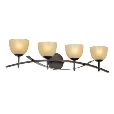 Pacific Coast Lighting Essentials Orbit Four Light Bath Vanity