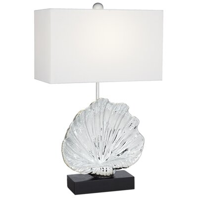 Pacific Coast Lighting  Fan Shell 1 Light Table Lamp