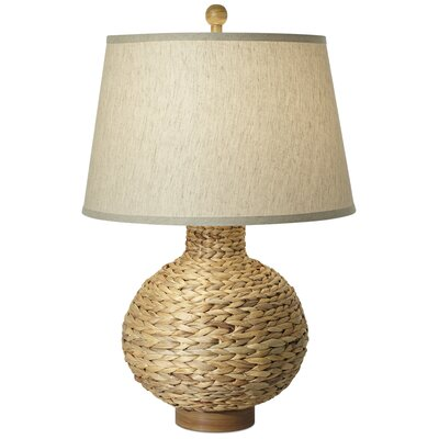 Pacific Coast Lighting Seagrass Bay Round Table Lamp