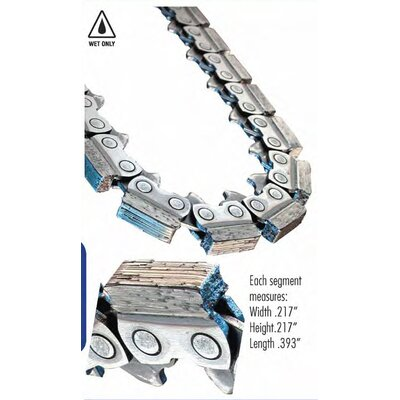 "Diteq 14"" C41 Gas HUSQ Diamond Chain"