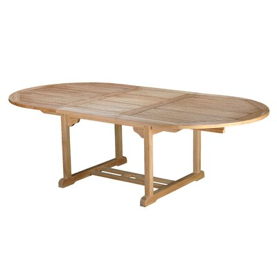 Bermuda Teak Oval Dining Table