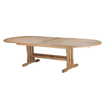 Arbora Teak Geneva Teak Oval Double Extension Dining Table