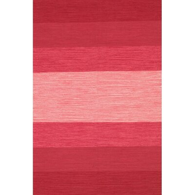 Chandra Rugs India Red Striped Rug