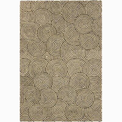 Chandra Rugs Retro Unique Beige Rug