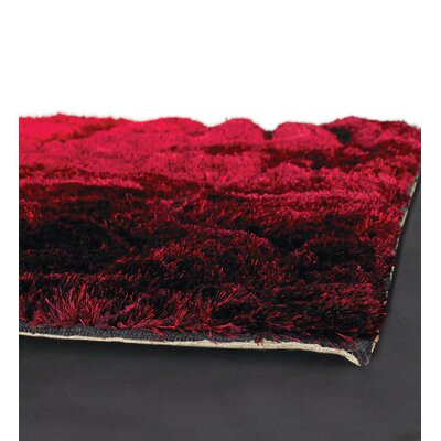 Chandra Rugs Flemish Shag Red Rug