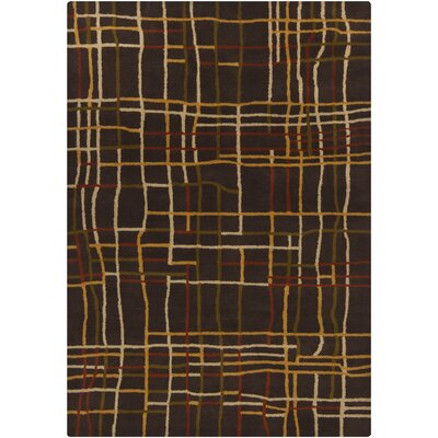 Chandra Rugs Gagan Dark Brown  Rug