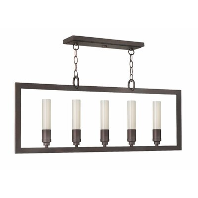 Fredrick Ramond Flair Island 5 Light Chandelier