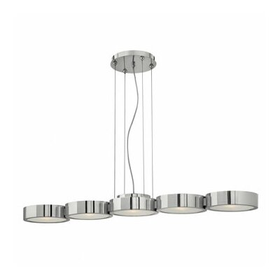 Fredrick Ramond Broadway 5 Light Linear Chandelier