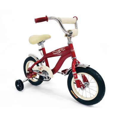 "Kettler USA 12"" Classic Flyer Retro Bike with Training wheels"