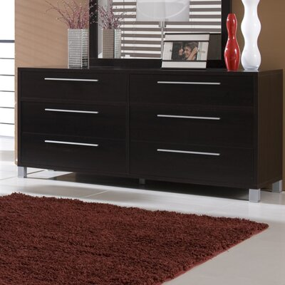 Hokku Designs Lexington 6 Drawer Dresser