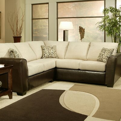 Hokku Designs Lauren Chenille Sectional