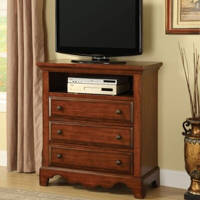 Hokku Designs Sorrento 3 Drawer Chest
