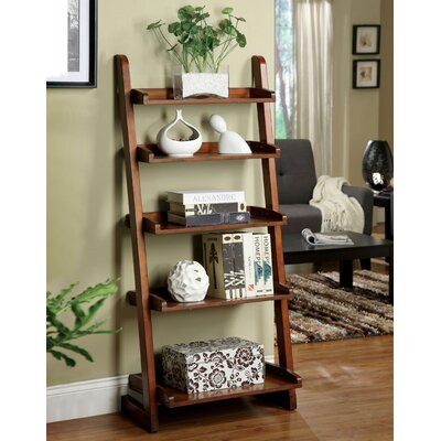 Hokku Designs Lugo Bookcase/Storage Cabinet in Antique Oak