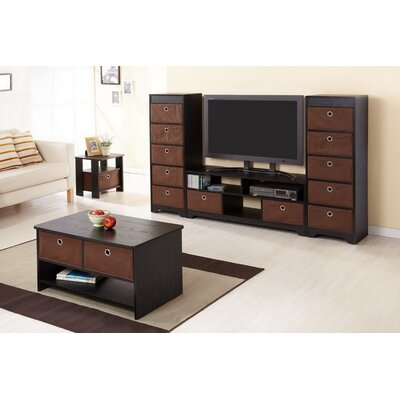 Hokku Designs Basic II Coffee Table Set