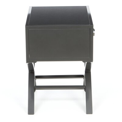 Hokku Designs Metro 1 Drawer Nightstand