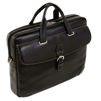 Siamod Fontanella Large Leather Laptop Brief