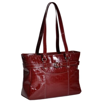 Serra Ladies' Leather Laptop Tote