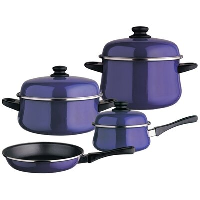 Magefesa Classic Porcelain on Steel 7-Piece Cookware Set