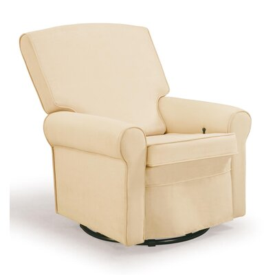Shermag Square Back Upholstered Reclining Glider