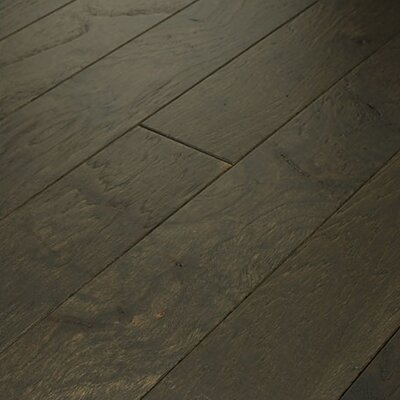 "Shaw Floors Brushed Suede 5"" Engineered Hickory Flooring in Fedora"