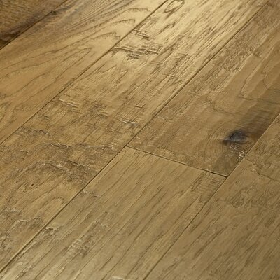"Shaw Floors Epic Pebble Hill 5"" Engineered Hickory Flooring in Prairie Dust"