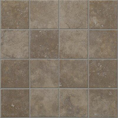"Shaw Floors Soho 12"" x 12"" Mosaic Tile Accent in Nova Blue"