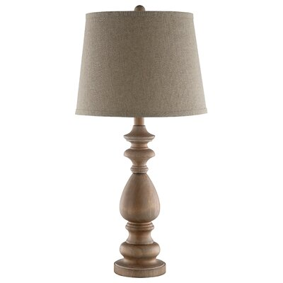 Stein World Urban Natural Turned Post Table Lamp