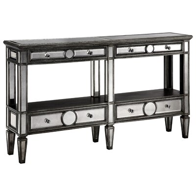 Stein World Cosmopolitan Sleek Narrow Mirrored Console Table