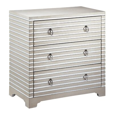 Cosmopolitan 3 Drawer Chest