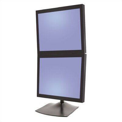 Ergotron DeskStand 100 Dual Monitor- Vertical