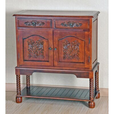 International Caravan Carved Sideboard