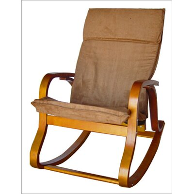 International Caravan Bentwood Rocking Chair
