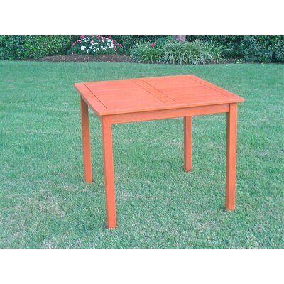 International Caravan Serena Outdoor Square Patio Dining Table