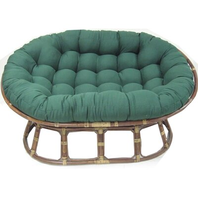 Blazing Needles Premium Double Papasan Cushion