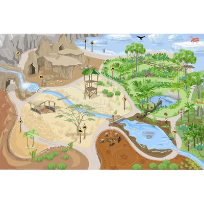 Le Toy Van Safari Playmat