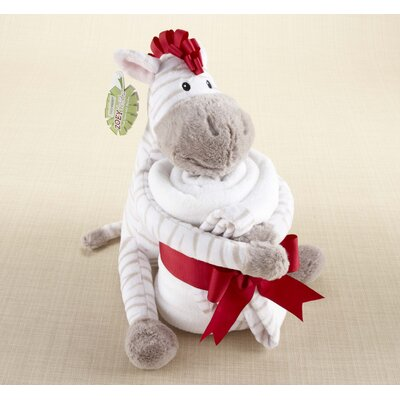 Baby Aspen ''Zoey the Zebra'' Plush Zebra with Blanket