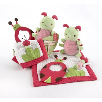 Baby Aspen In the Garden 4 Piece Critter Gift Set